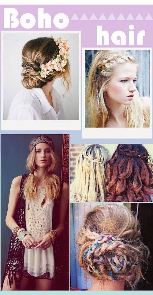 3 Easy boho hairstyles to Try Right Now. Cómo lograr peinados para novias boho.