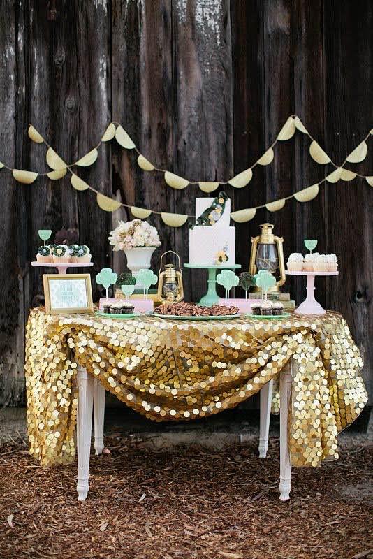 Mesas de dulces para bodas como prepararlas tu misma - Decoracion de mesas para fiestas ...