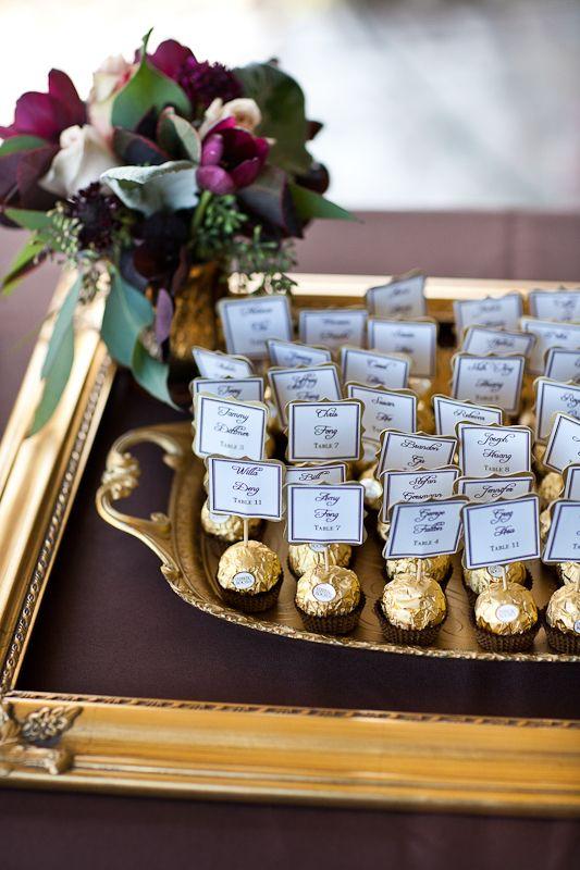 Ferrero Rochers para tu mesa de dulces.