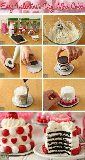 Pastelitos de amor para San Valentin.