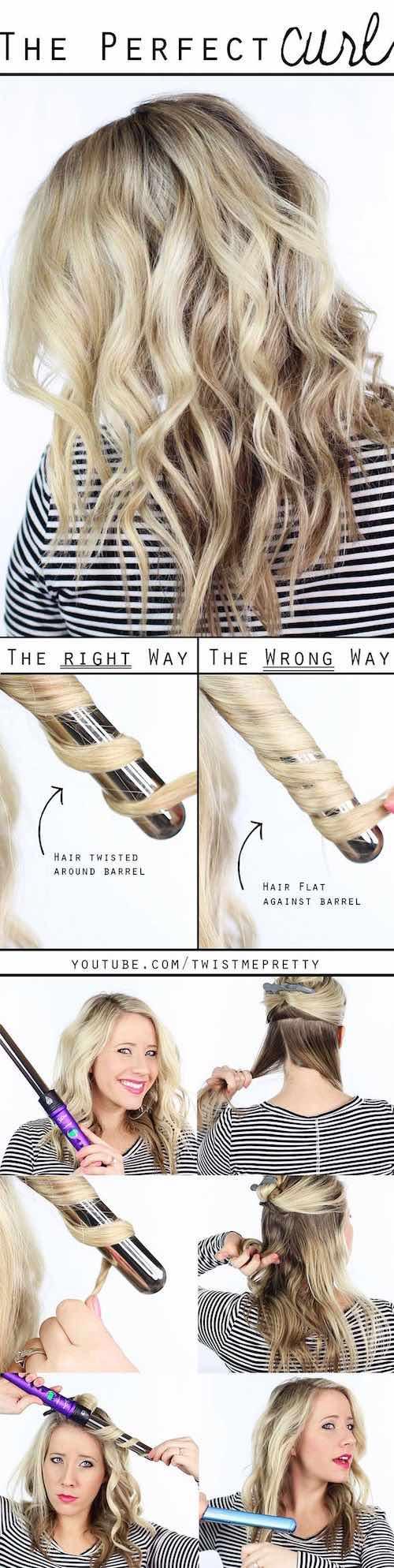 Cómo lograr los rizos perfectos para los peinados para novias boho. Peinados Boho Paso a Paso.