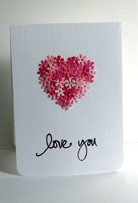 Tarjeta de San Valentín para hacer tu misma