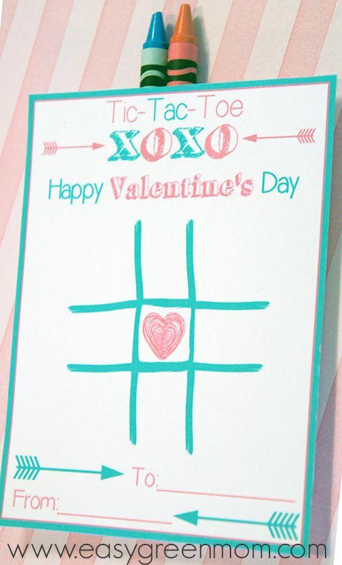 Tic-Tac-Toe Valentine