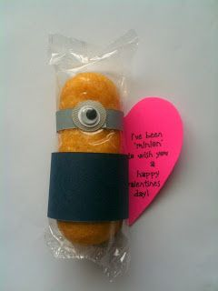 You're One in a Minion Valentine. Manualidades