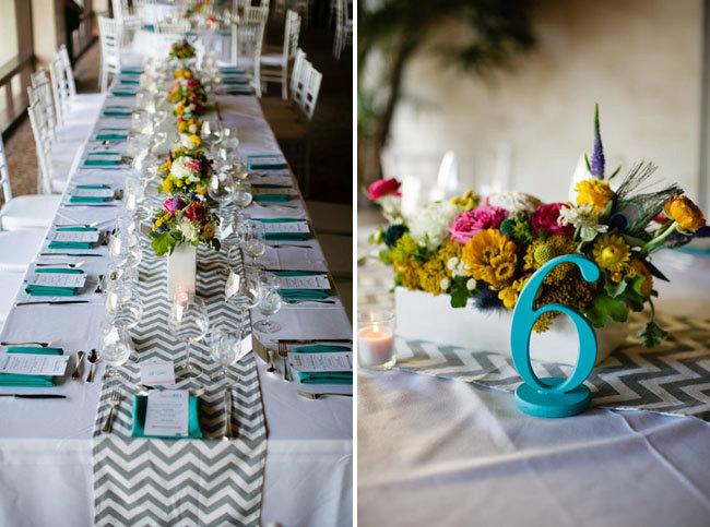 Caminos de mesa para bodas: 27 ideas originales y económicas