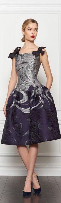 Vestidos para damas de honor de diseñadores: Carolina Herrera.