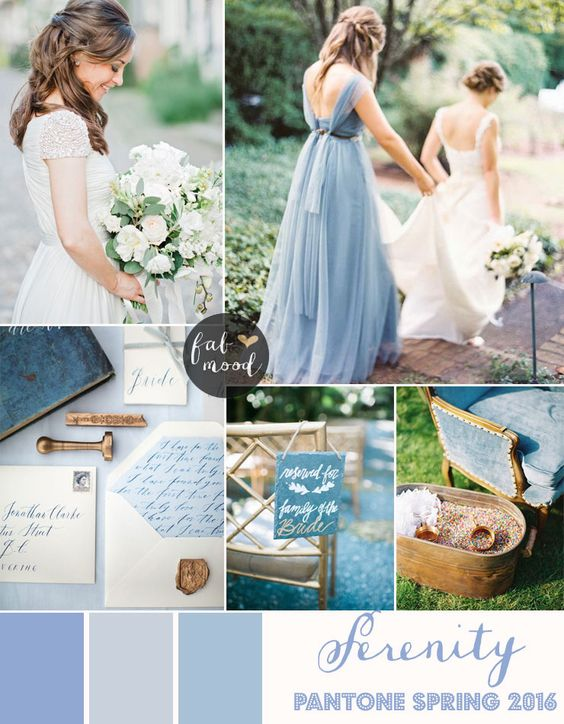 More ideas for a rose quartz and serenity blue wedding. Mas ideas para una boda rosa cuarzo y serenity blue.