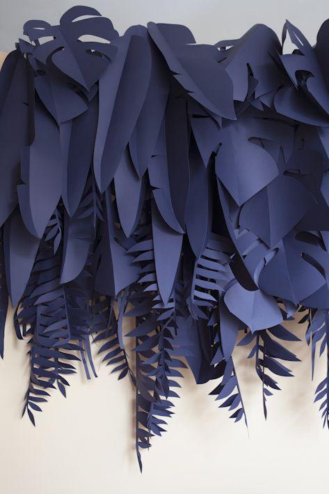 Cómo hacer cortinas de papel para bodas con paso a paso