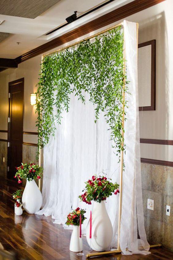 homemade budget vine inspired wedding