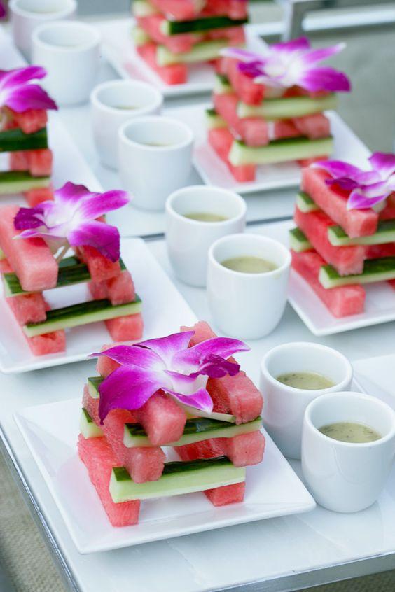 Menus de boda en verano: Andrea Correale's Elegant Affairs