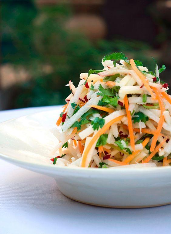 ¿Que tal una ensalada de jicama en tu menu de boda?
