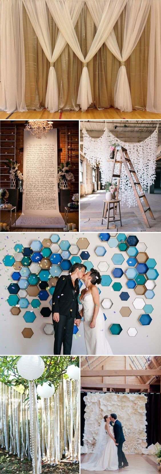 C mo hacer cortinas de papel para bodas con paso a paso for Ideas para cortinas