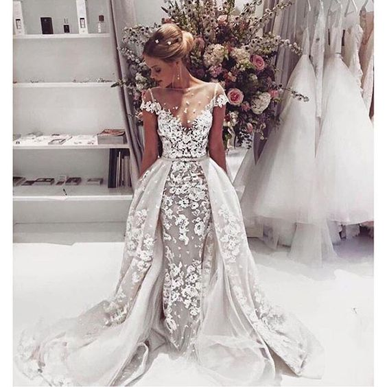 Uno de los vestidos de novia mas bellos
