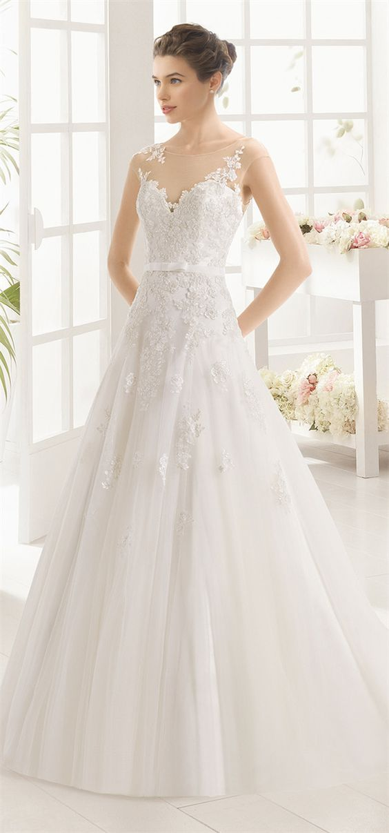 Aire Barcelona Wedding Dresses 2016 Collection.