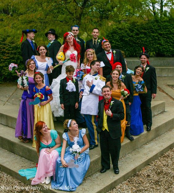 Shari Photography. The Greatest Disney Themed Wedding Ever.