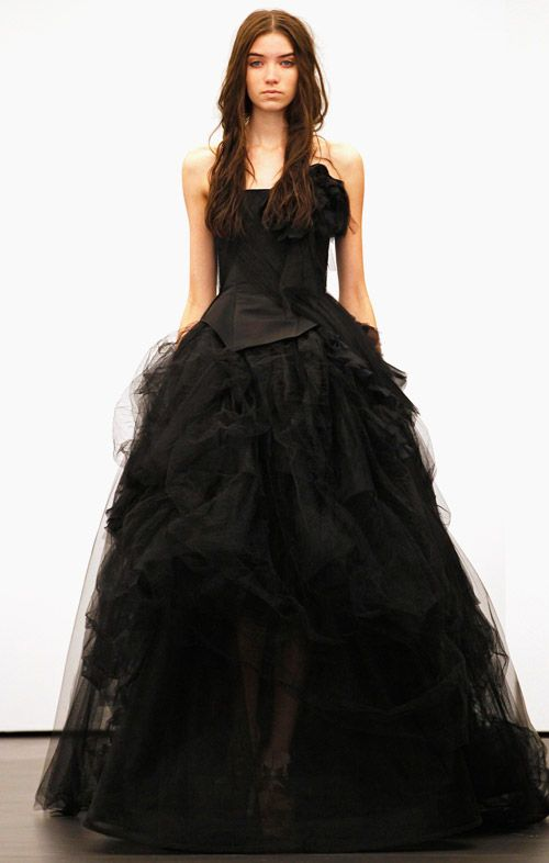 Vera Wang added a nontraditional wedding dress to her collection back in 2014.