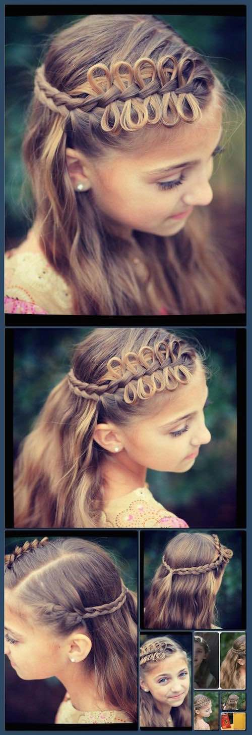 A little hunger games inspiration for your beach wedding bridal hairstyle.