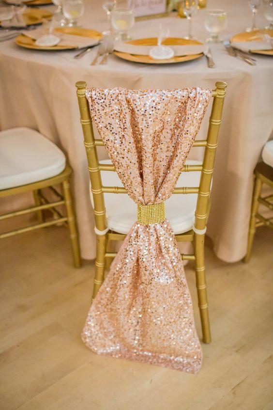 Una boda romántica en blush y dorado logra un look muy glam. Hotel Diamond in Chico California Katelyn Owens Photography