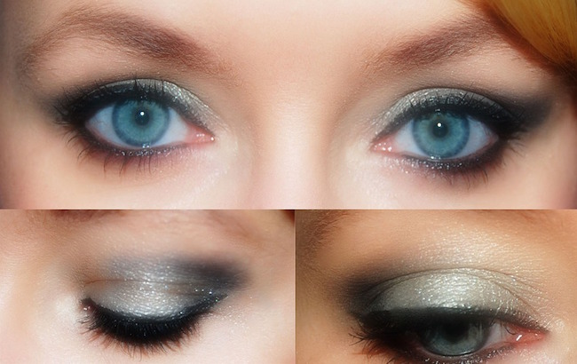 Smoky eyes in seconds and no smudging!! Great bridal makeup tips and tricks for budget conscious brides.