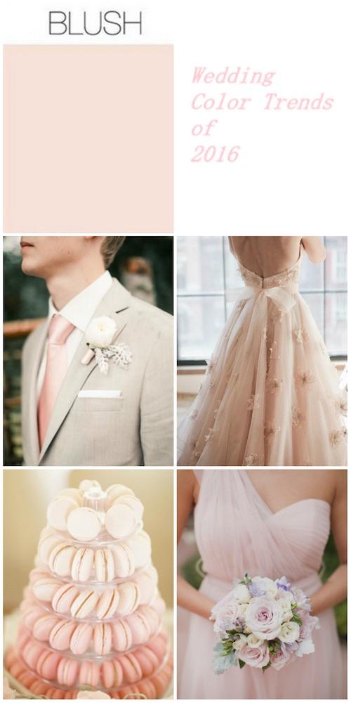 Tips para la decoración de una boda romántica en blush. Imperdibles!