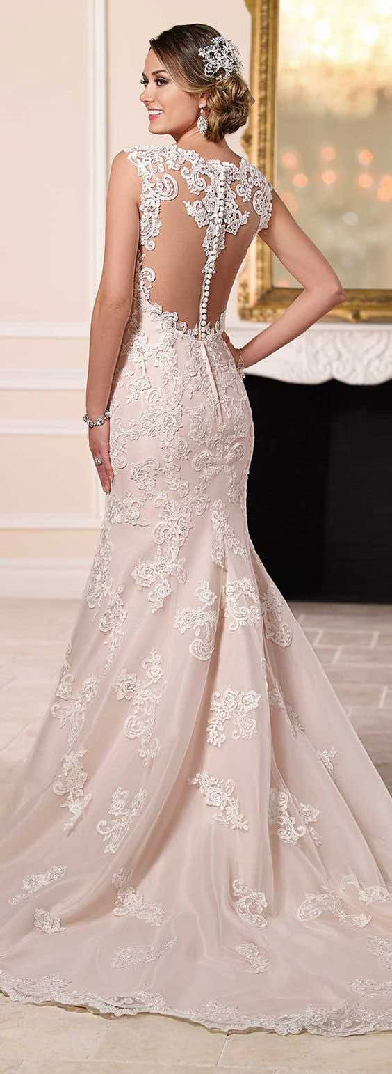 Will the white wedding dress tradition continue find out for Wedding dresses that are white