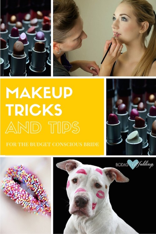 Pucker up! Makeup Tricks and Tips for Budget Conscious Brides.