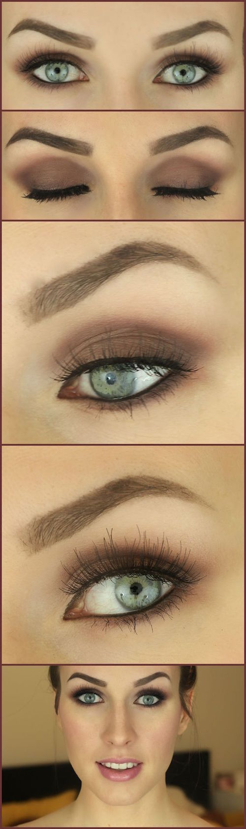 Simple smoky eye tutorial.