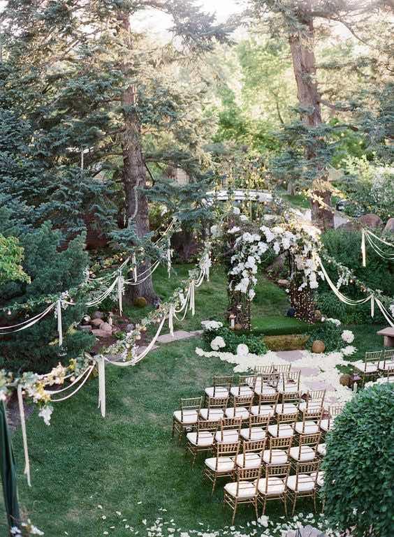 Decoraci n de jardines para bodas todo lo que debes saber for Ideas para jardines de campo