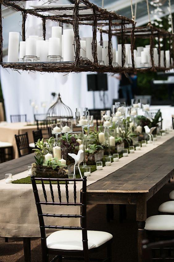 Decoraci n de jardines para bodas todo lo que debes saber - Mesas decoradas para bodas ...