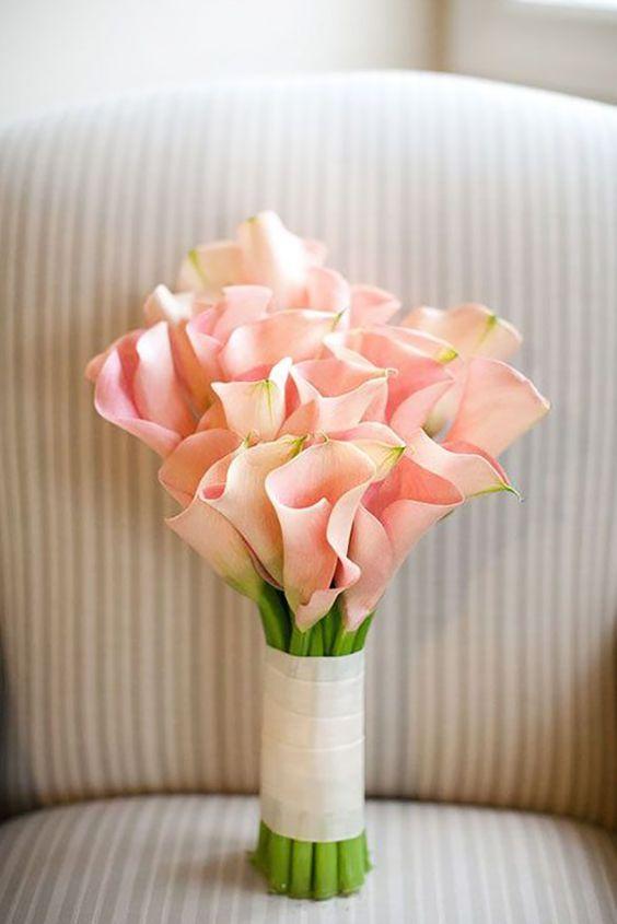 Tipos de ramos de novia descubre como combinarlos con tu - Ramos de calas para novias ...