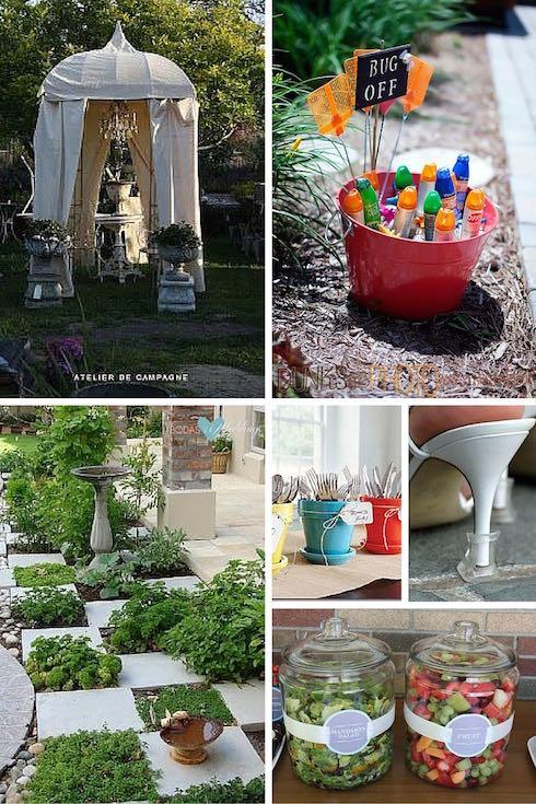 decoración de jardines para bodas: todo lo que debes saber