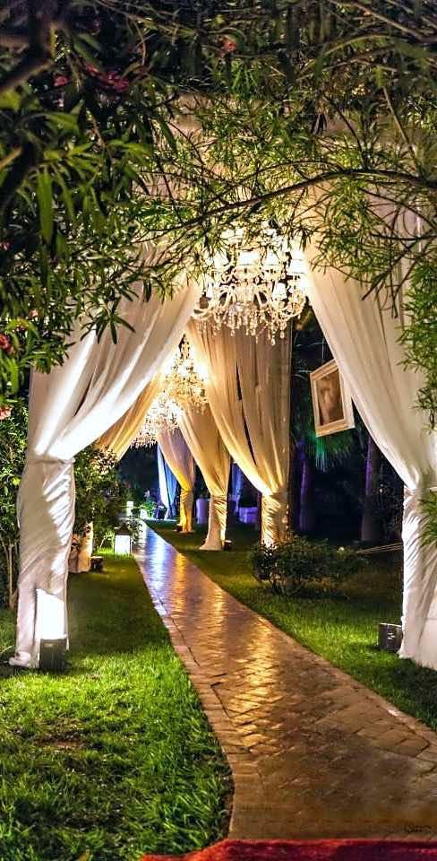 Decoraci n de jardines para bodas todo lo que debes saber for Antorchas para jardin caseras