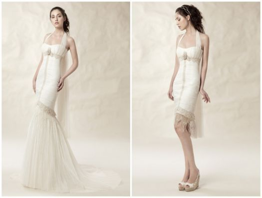 Quieres estar radiante en el día de tu boda y lucir ese vestido que deje a todos boquiabiertos pero seguramente también quieras bailar cómoda. Los vestidos de novia desmontables son ideales para ello. ¡inspírate!