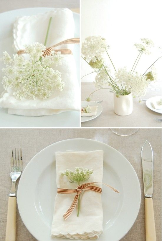 Baby's breath on your tablescapes.