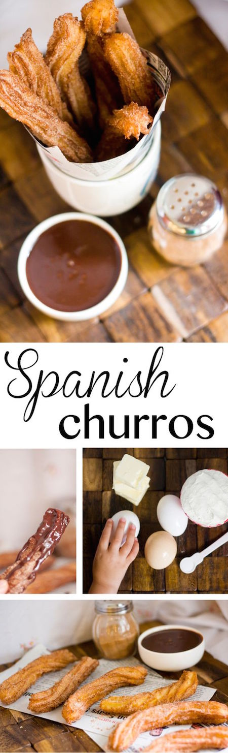 How about we add a touch of Hispanic heritage to our wedding food with these delicious Spanish churros? I'm in!!!