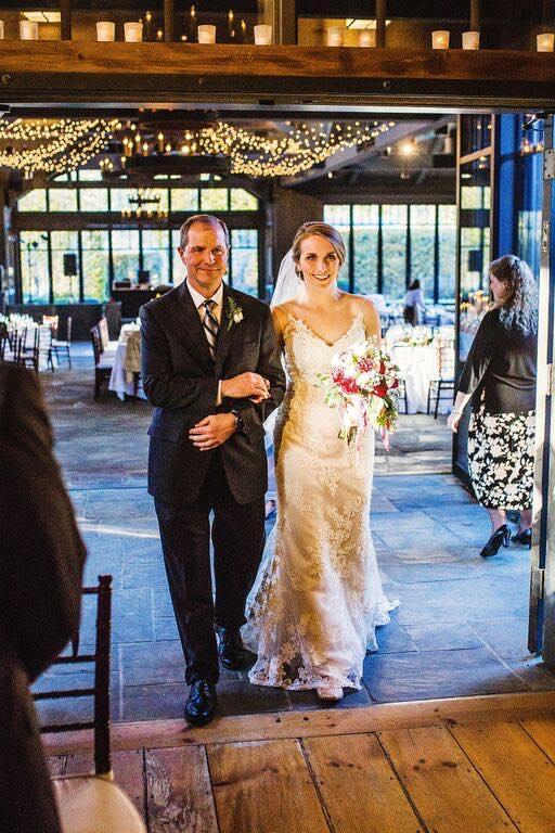 La entrada de la novia.