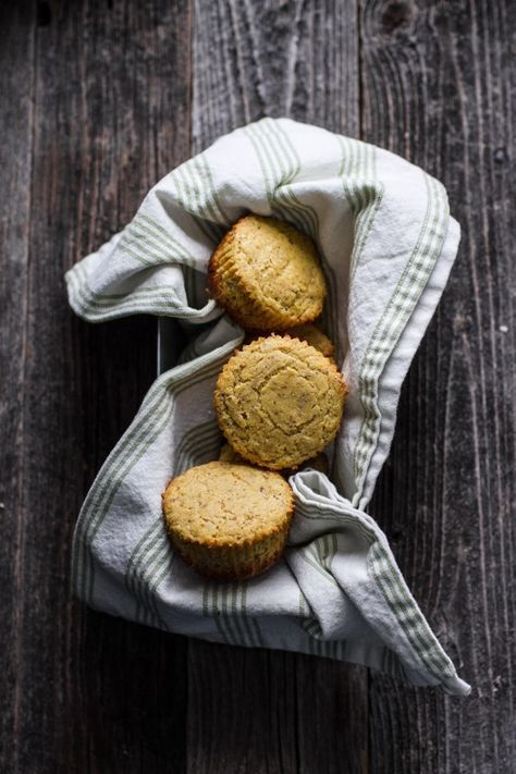 Cornbread muffins to add a southern touch to the brunch wedding menu.