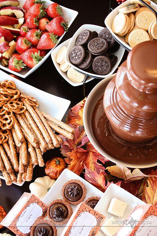 Chocolate fountain ideas. Surrounded by a huge array of tasty dipping ingredients, a chocolate fountain creates a focal point at your wedding and leave a lasting impression.