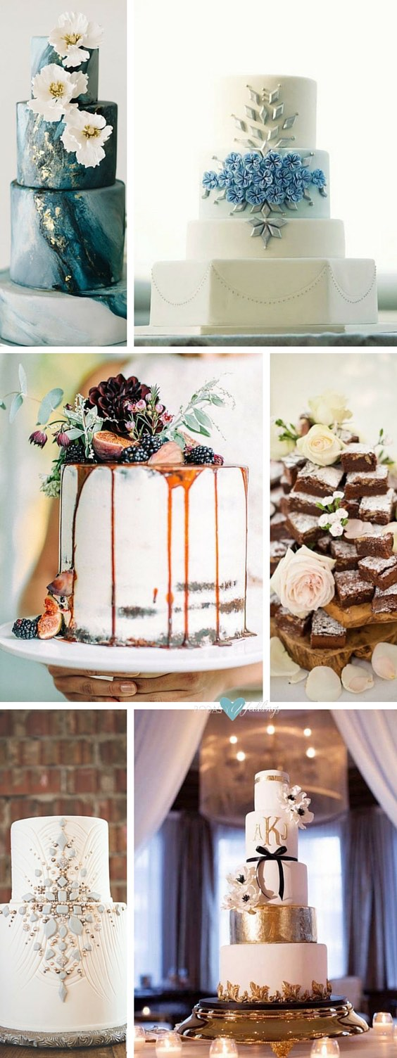 45 Classy And Elegant Wedding Cakes: Graceful Inspiration Tier by Tier.