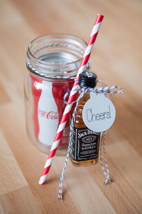 DIY Jack & Coke kit.