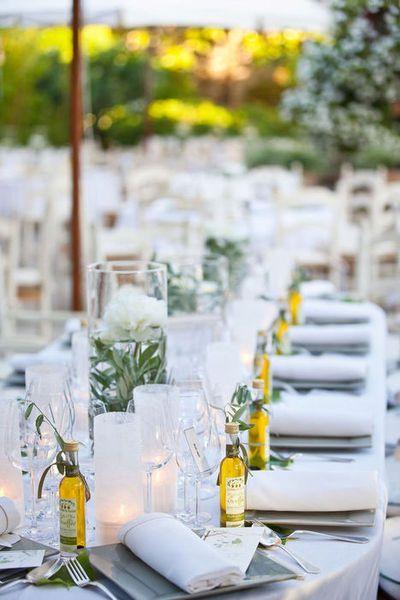 Italian wedding favors for an Italian themed wedding.