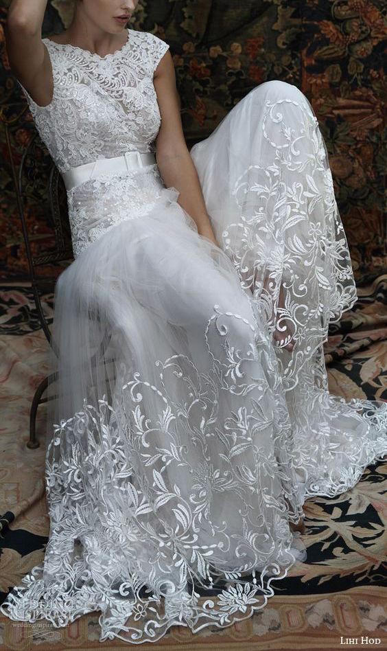 Impresionante vestido cortesía de la colección 2016 de Lihi Hod.