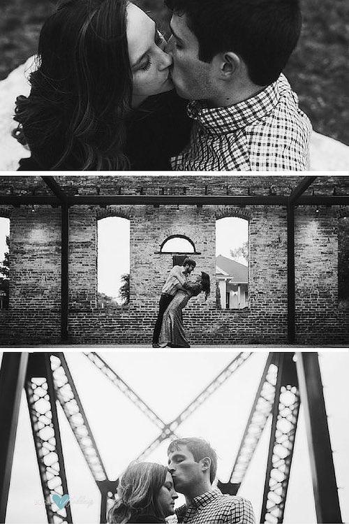 Lyndsie + John. Fotografía: Christian David Photo. Imprime sensación cinematográfica a tu sesión de fotos sea donde sea. Este efecto es sobrio, romántico, elegante.