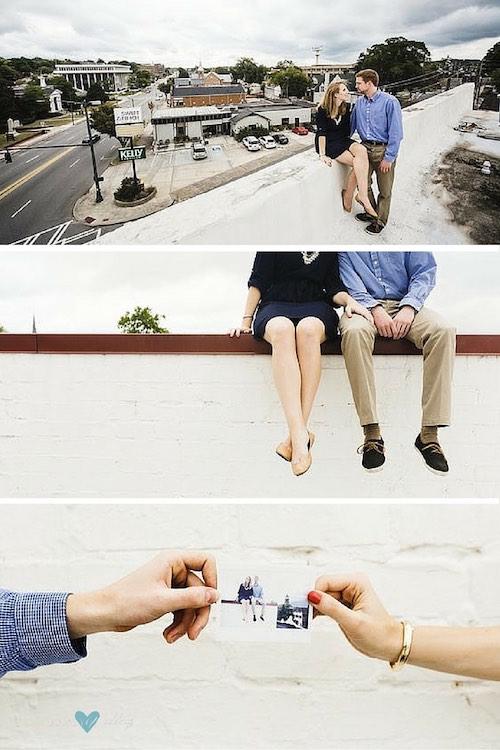 Paisajes reales para una sesión de fotografía de compromiso Se acuerdan de Michaela + Zach? Fotografía: Christian David Photo