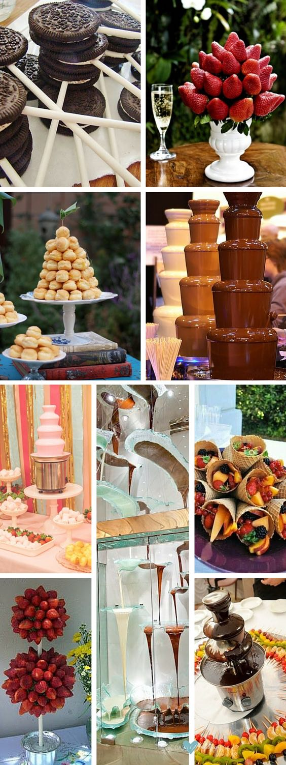 Unforgettable Chocolate Fountain Ideas For Weddings: Bringing Sexy Back