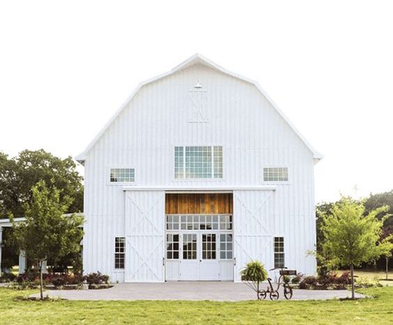 Incredible barn venues for weddings.