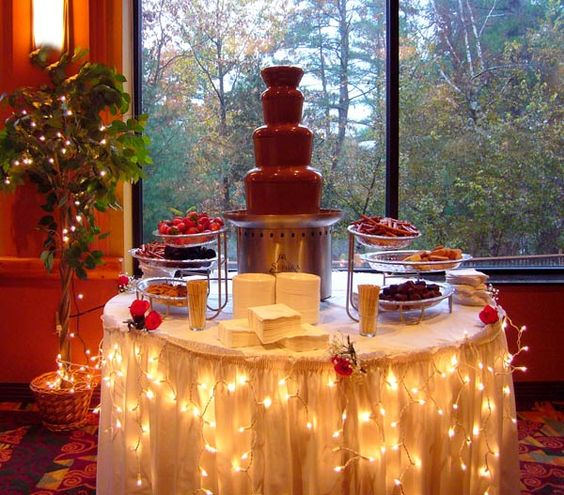 Chocolate Fountain Ideas For Weddings Bringing Sexy Back