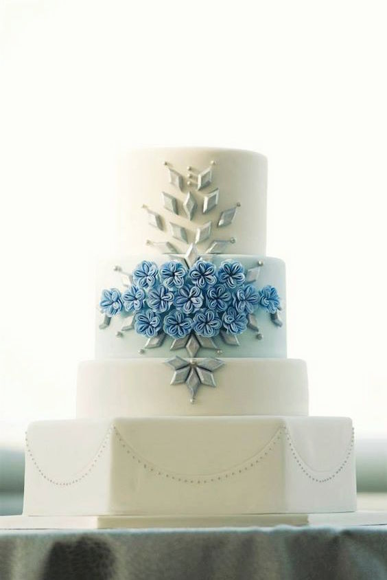 Fabulous and elegant wedding cakes from Amy Beck Cake Design. A play with patterns, textures and geometry.