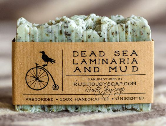 Fragrant wedding favors your guests will take off your hands. Dead Sea mud and laminaria soap