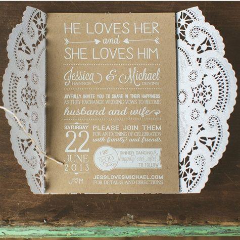 Las tarjetas de invitación a la boda son nuestro primer acercamiento con los invitados. Incluye alguna frase o pensamiento que te represente para personalizar la invitación aun mas.